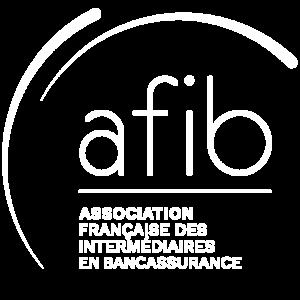 logo blanc afib